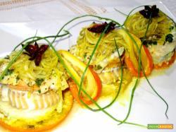 Filetti di merluzzo agli agrumi
