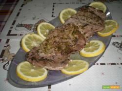 Filetti di tonno in salsa agli agrumi