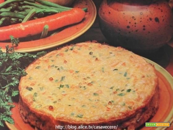 Frittata di verdure al prezzemolo (per 4)