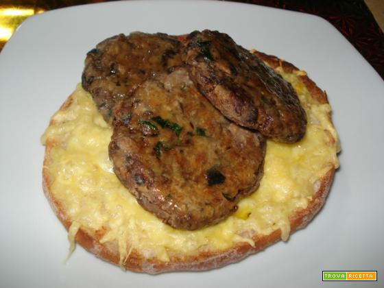 Hamburger alla forestiera