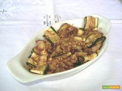 Melanzane e zucchine grigliate (per 2)