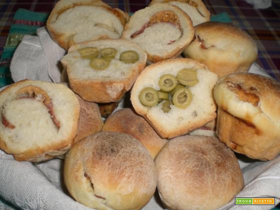 Muffins di pane speziato