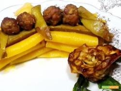 Paccheri gialli con carciofi