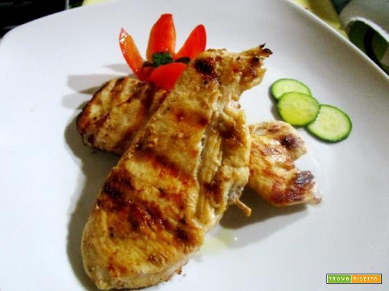 Petto di pollo alla griglia