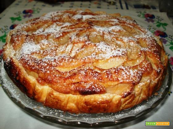 Torta di mele in forma (per 8)