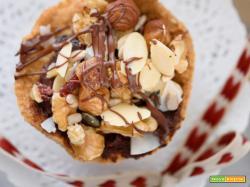 Crostatine di frutta secca & Nutella