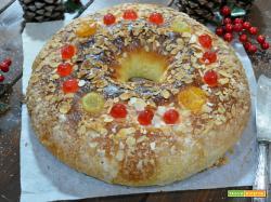 Roscòn de Reyes la Torta dei Re Magi