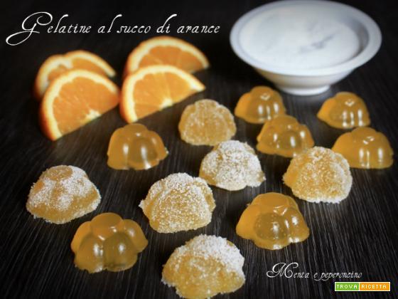 Gelatine al succo di arance