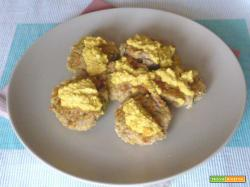 Polpette di pollo allo zafferano