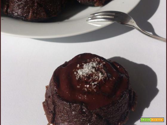 Bounty Muffin naturalmente Proteici Cocco e Cioccolata