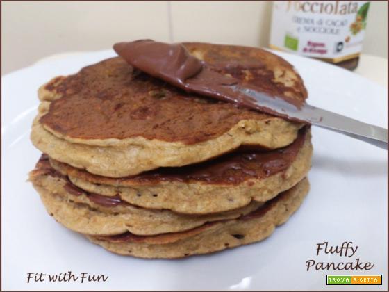 Fluffy Pancake Soffici allo Yogurt Greco senza Glutine