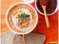 Hummus alla Thailandese con Latte di Cocco e Curry