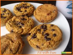Muffin 4 ingredienti: Zucca, Ceci, Avena e Burro di Arachidi