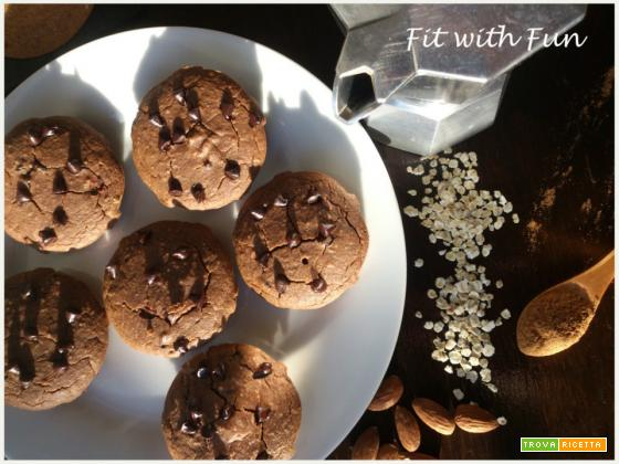 Muffin Energetici al Caffè e Cannella con Farina di Avena e di Mandorle