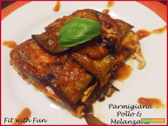 Parmigiana Light di Pollo e Melanzane