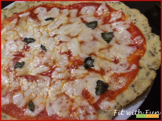 Pizza Margherita con base di Cavolfiore - Light & Gluten Free