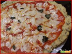 Pizza Margherita con base di Cavolfiore - Light & Gluten Free