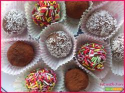 Tartufini Light Cocco e Cioccolato