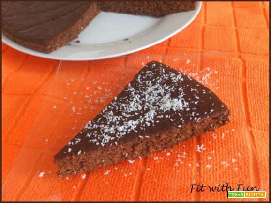 Torta Fresca di Carote, Carruba e Mandorle