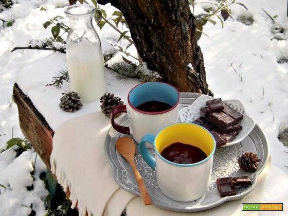 Cioccolata calda densa e cremosa