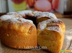 Ciambella 7 vasetti con mele - cotta nella pentola fornetto Petronilla (anche con Versilia)