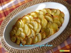 Baccalà in crosta di patate al forno