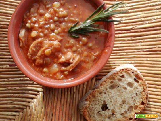 Le lenticchie  e salsicce di Roberta