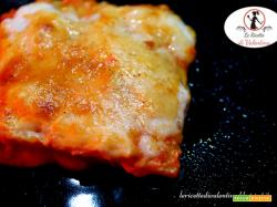 Lasagne di polenta al pomodoro e formaggio Bra (ricetta bimby)