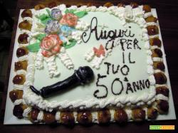 Dolce di compleanno di Maurizio