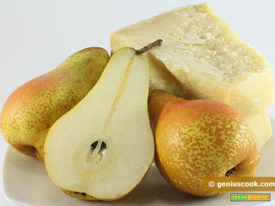 Torta alle pere e formaggio