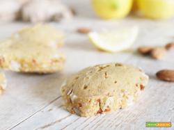 Biscotti da colazione con Zenzero, Limone e Mandorle e la nuova rubrica Dolcemente Green