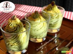Crema di pistacchio, dessert al cucchiaio