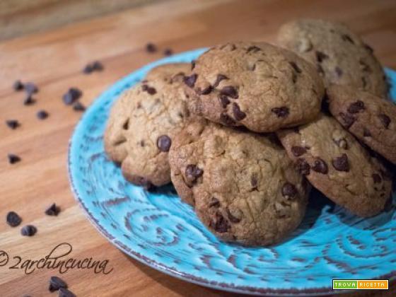 Chocolate chips cookies – Biscotti con gocce di cioccolato