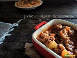 Ragù alla bolognese ricetta originale