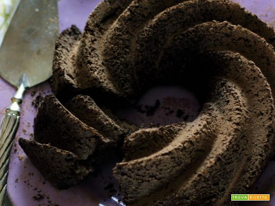 Torta al cacao,arancia e cannella: senza uova, senza latte e senza burro