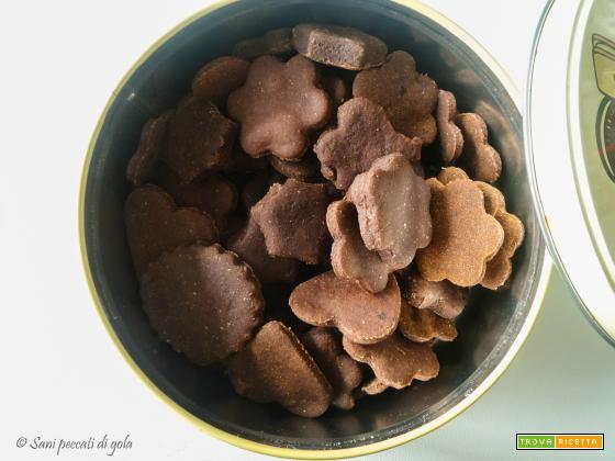 Biscotti vegan light cacao e cannella