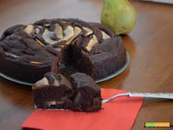 Torta pere e cioccolato super soffice (super buona!)