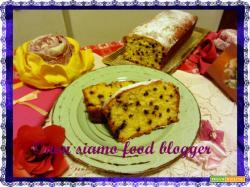 Plumcake con yogurt greco e gocce di cioccolato