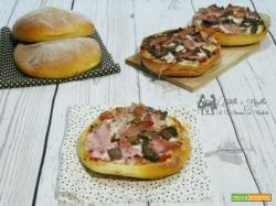 Pizzette di focacce