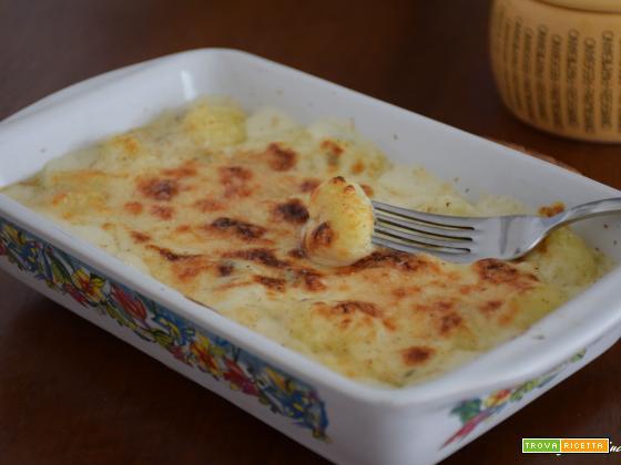 Gnocchi alla parigina con gorgonzola (con gnocchi di patate)