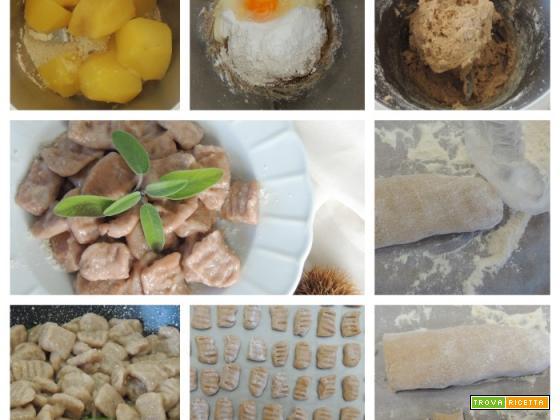 Gnocchi di castagne col Bimby