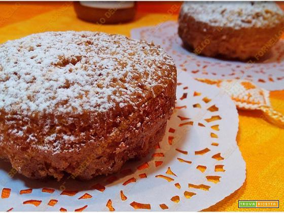 Mini Tortine con ripieno di marmellata