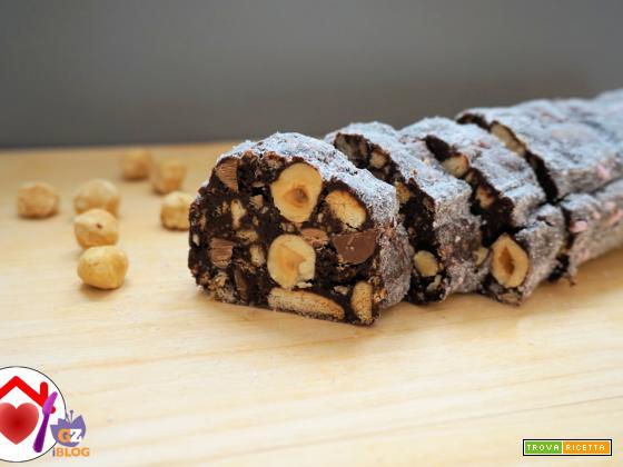 Salame al cioccolato – ricetta veloce