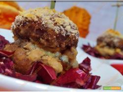 Baci di champignon ripieni di salsiccia