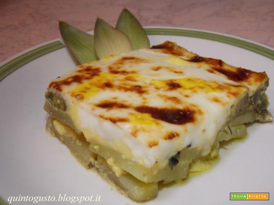Carciofi e patate in doppia crema