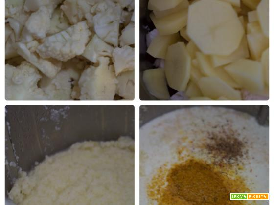 Vellutata di cavolfiore al curry col Bimby