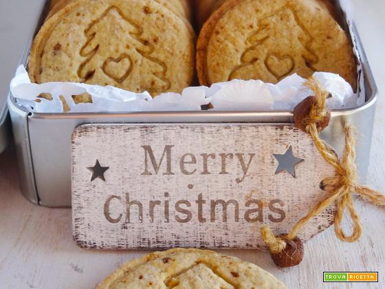 Biscotti di Natale miele e cannella