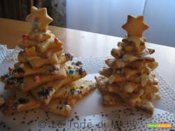 Alberello di Natale di Stelle di Pastafrolla