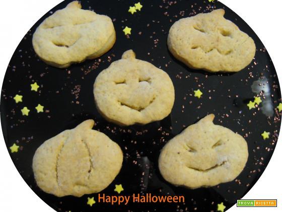 Biscotti di Halloween, arancia, miele e cannella