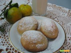 Biscotti leggeri e soffici al profumo di mandarino